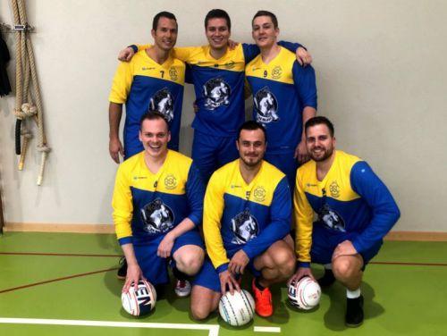 Faustballer Teamfoto 4. Liga